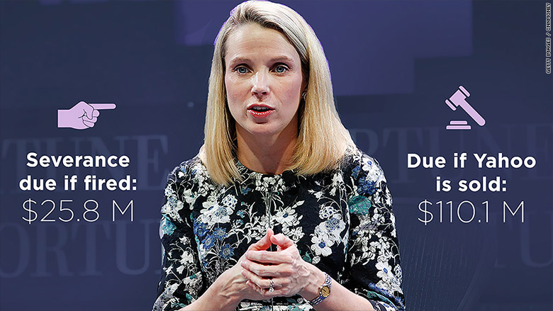 Yahoo's Marissa Mayer Loses Cash Bonus Over Security Breaches