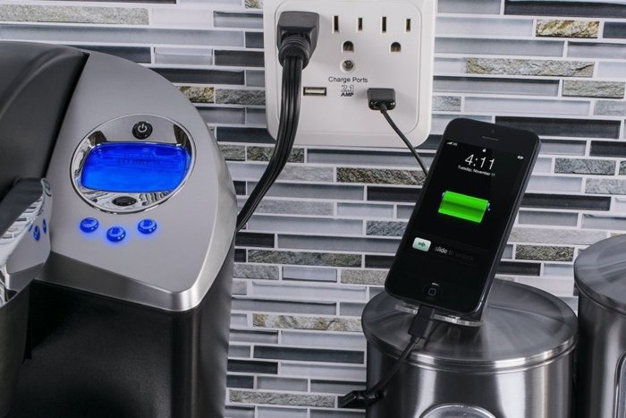 46% off CyberPower Surge Protector 3-AC Outlet with 2 USB (2.1A) Charging Ports – Deal Alert