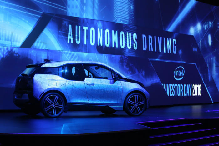 bmw i3 autonomous