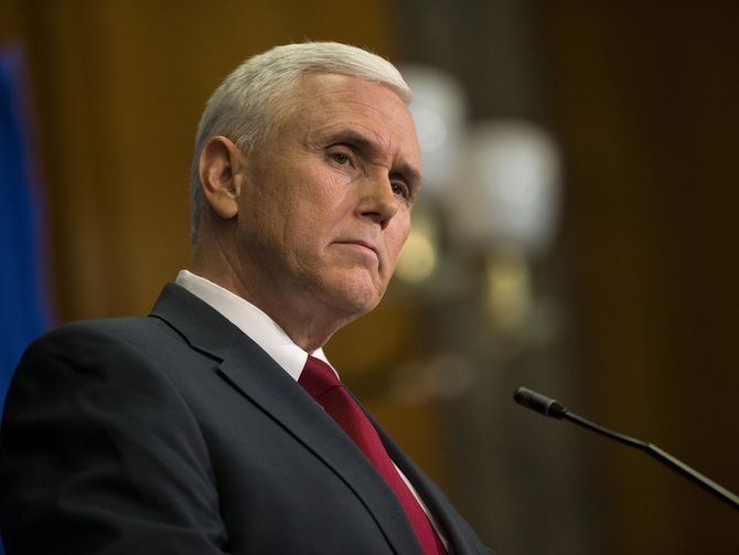 Pence Used AOL Email On Governor Business, Got Hacked