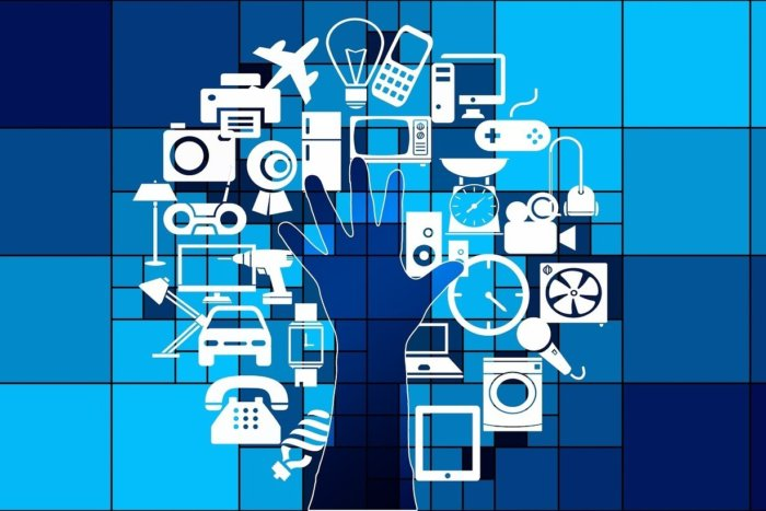 The Internet of messy things