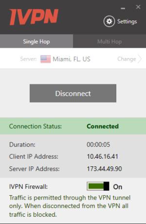 ivpnconnected