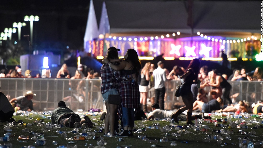 Largest Mass Shooting In US History Leaves 50 Dead, Over 400 Injured In Las Vegas
