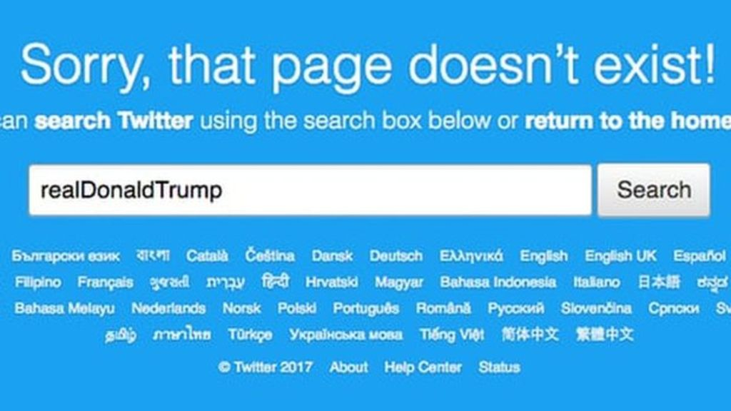 Twitter Employee Finally Follows ToS And Deactivates Donald Trump's Account