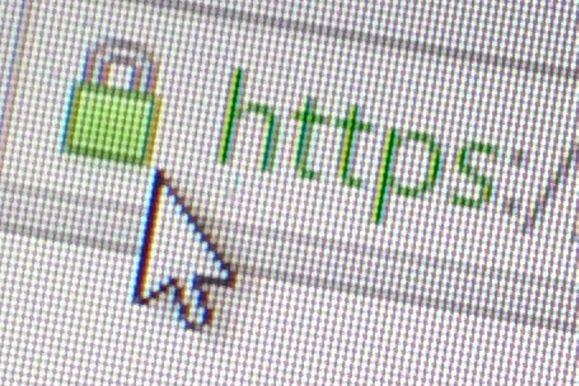 SSL padlock icon security