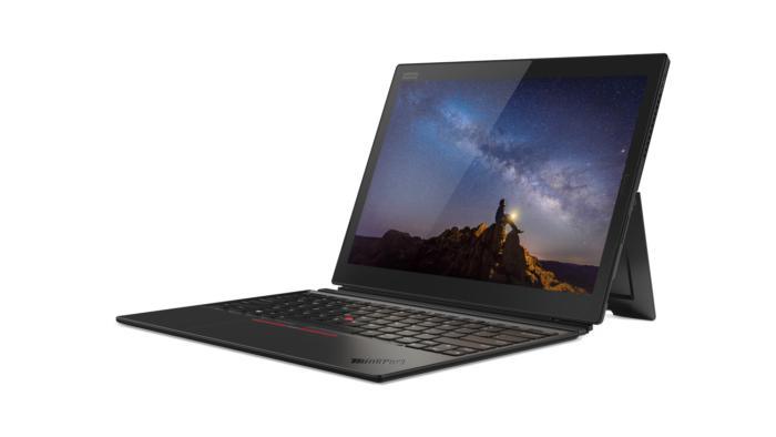 Lenovo X1 tablet 2018 tablet hero front facing left