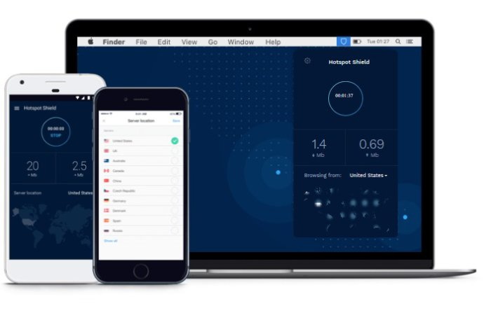 HotSpot Shield review: It's fast, beautiful, and definitely not for anonymity
