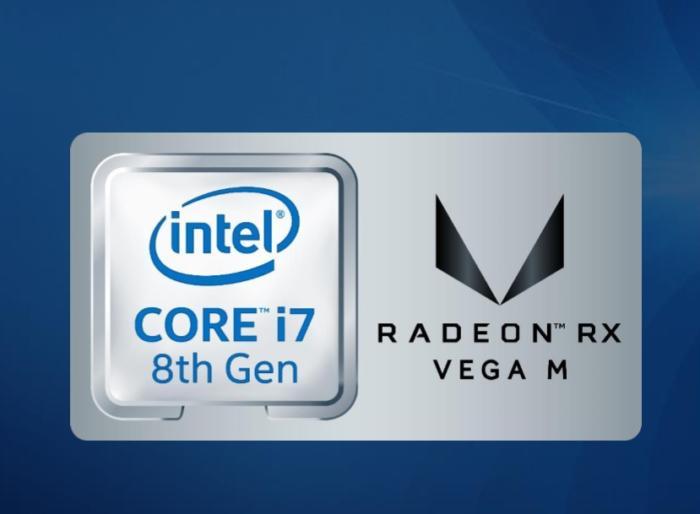 Intel Core AMD Radeon RX Vega M