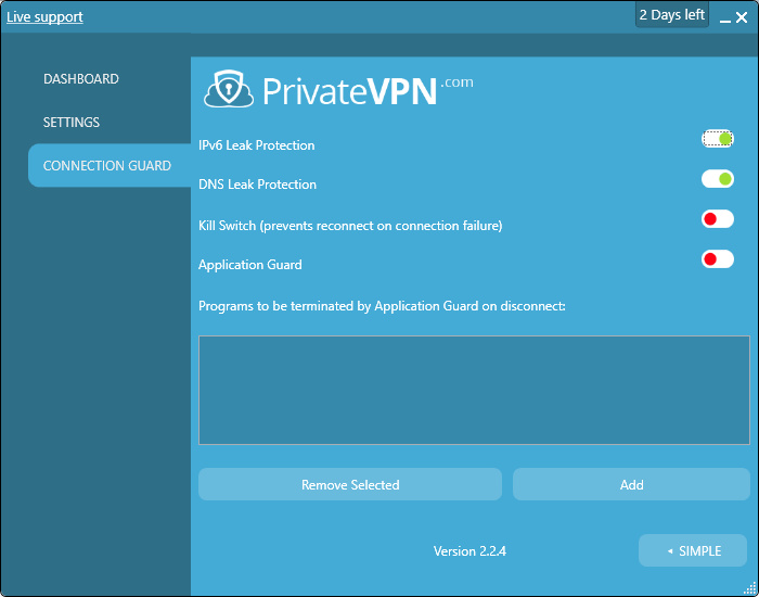 privatevpnconnectionguard