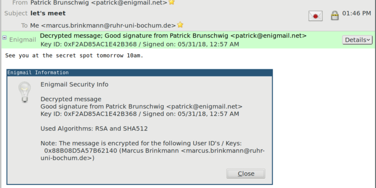 Decades-Old PGP Bug Allowed Hackers To Spoof Just About Anyone's Signature