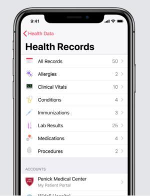 Apple Health Record mobile