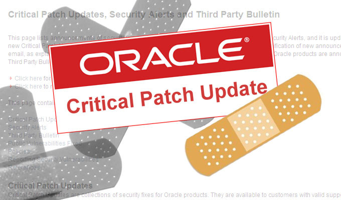Oracle Fixes 301 Flaws in October Critical Patch Update