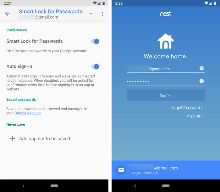 03 google smart lock passwords