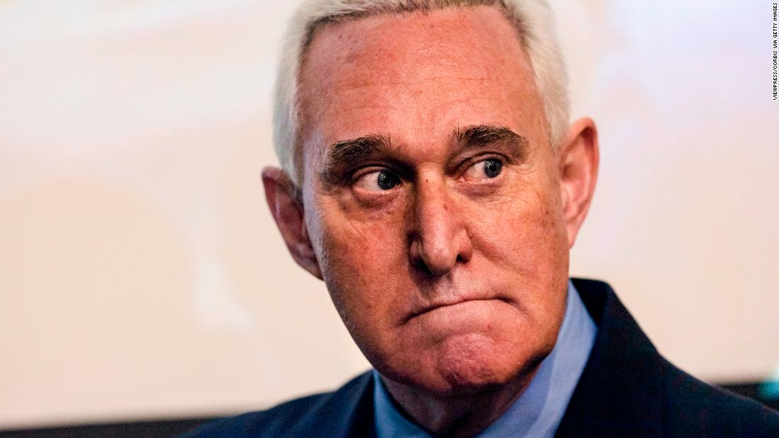 Roger Stone Indicted On Charges Brought By Special Counsel