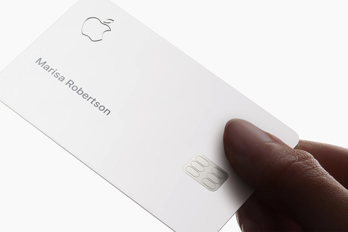 With its Apple Card, Apple edges further into financial services