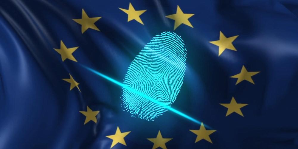 EU flag biometrics